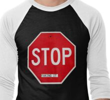 Stop Faking It Men's Baseball ¾ T-Shirt