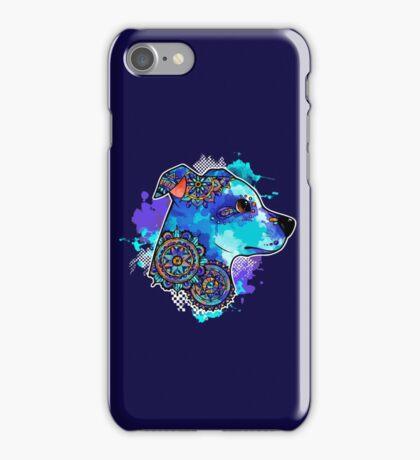 Bohemian Pit Bull iPhone Case/Skin