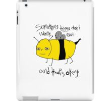 Spencer the Bee iPad Case/Skin