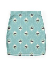 Black Hearts Mini Skirt