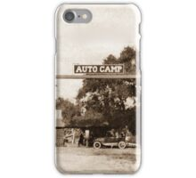 Route 66 Auto Camp iPhone Case/Skin
