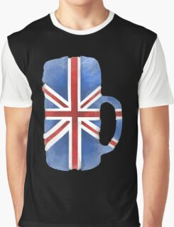 UK Beer Flag Graphic T-Shirt