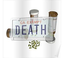 government plates with pills Poster