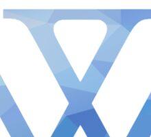 Wellesley Logo Sticker