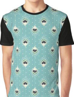 Black Hearts Graphic T-Shirt