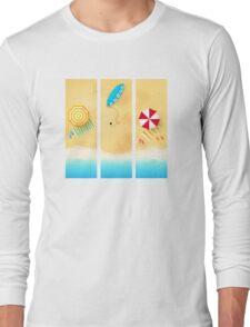 SUMMER TIME BEACH Long Sleeve T-Shirt