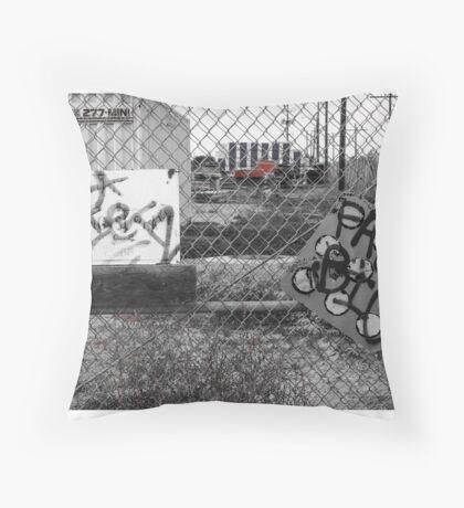 Suburb Slumps Throw Pillow