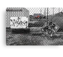 Suburb Slumps Canvas Print