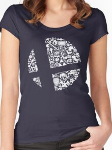 Smash! Women's Fitted Scoop T-Shirt