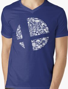 Smash! Mens V-Neck T-Shirt