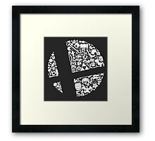 Smash! Framed Print