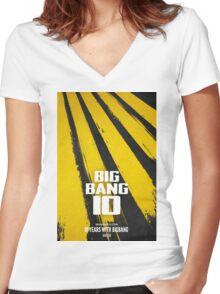 BIGBANG 10 Women's Fitted V-Neck T-Shirt