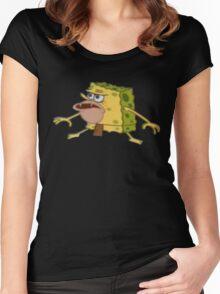 Caveman - SpongeBob Women's Fitted Scoop T-Shirt