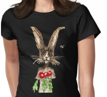 R is for Rabbit Womens Fitted T-Shirt