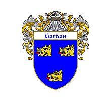 Gordon Coat of Arms/Family Crest Photographic Print