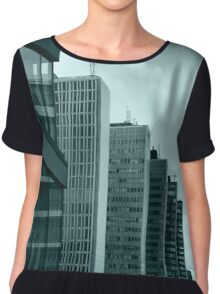 Office Buildings Chiffon Top