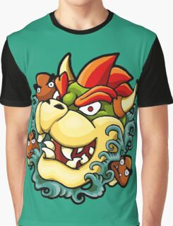 Oni Bowser Graphic T-Shirt