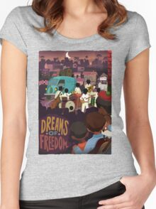 Dream Of Freedom Women's Fitted Scoop T-Shirt