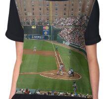 Orioles Baseball Chiffon Top