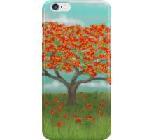 Flamboyan Tree iPhone Case/Skin