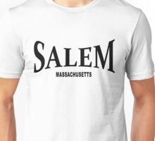 Salem Massachusetts - black  Unisex T-Shirt