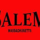 Salem Massachusetts - black  by Bela-Manson