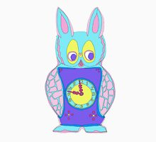 The Cute yet Creepy Rabbit Clock Unisex T-Shirt