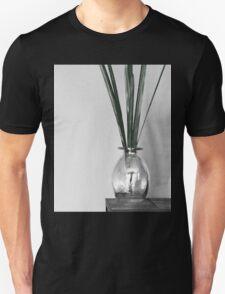 B&W vase with greenery Unisex T-Shirt