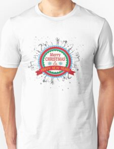 N4258F Merry Christmas and Happy new year girl t-shirt, prefect christmas gift, funny T-shirt Unisex T-Shirt