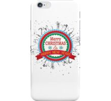 N4258F Merry Christmas and Happy new year girl t-shirt, prefect christmas gift, funny T-shirt iPhone Case/Skin