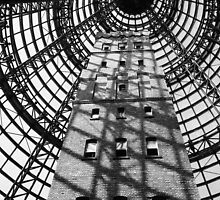 Melbourne Shot Tower by Maggie Hegarty