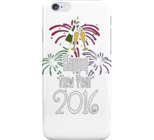 Happy new year 2016 T-Shirt iPhone Case/Skin