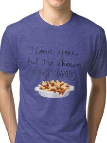 Poutine Love Tri-blend T-Shirt