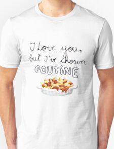 Poutine Love Unisex T-Shirt