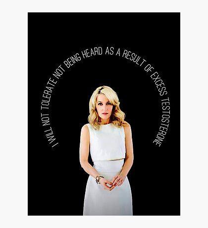 Gillian Anderson Quote Photographic Print