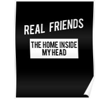 The Home Inside My Head, Real Friends Poster