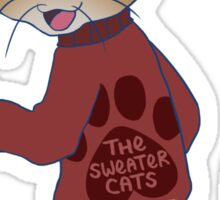 thesweatercats A1 Sticker