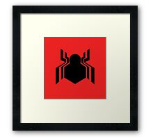 Civil War Spiderman Framed Print