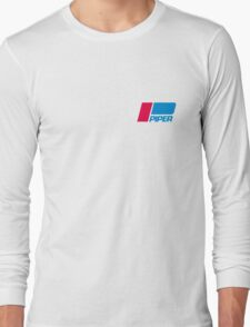 PIPER AIRCRAFT - RETRO BADGE Long Sleeve T-Shirt