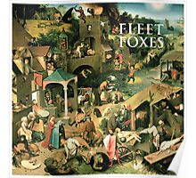 Fleet foxes - Fleetfoxes Poster