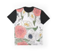 Pen and ink flowers Graphic T-Shirt