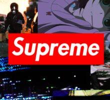 supreme collage Sticker
