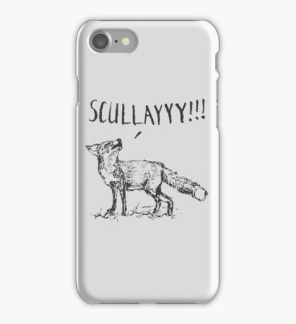 What a Certain Fox Says iPhone Case/Skin
