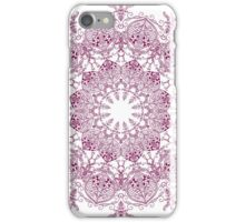 Abstract circular pattern iPhone Case/Skin