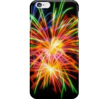 Abstract Colorful Fireworks iPhone Case/Skin