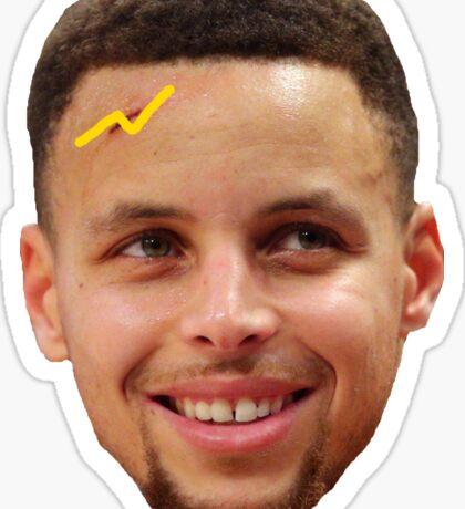Steph Curry (Harry Potter Scar)  Sticker