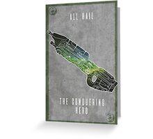 Halo 5 Chief Greeting Card