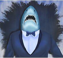 Shark Tux Photographic Print