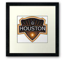 Houston Beer Logo Framed Print