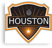 Houston Beer Logo Canvas Print